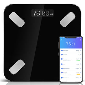 Everfit Electronic Digital Bathroom Body Fat Scale Scales Bluetooth 180KG BMI