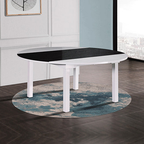 Baily Dining Table Black & White
