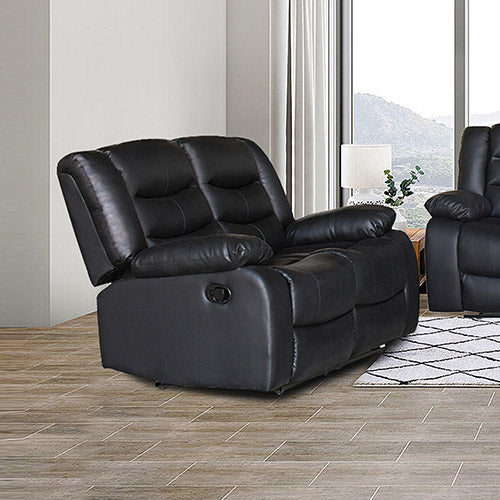 Fantasy Recliner Pu Leather 2R Black