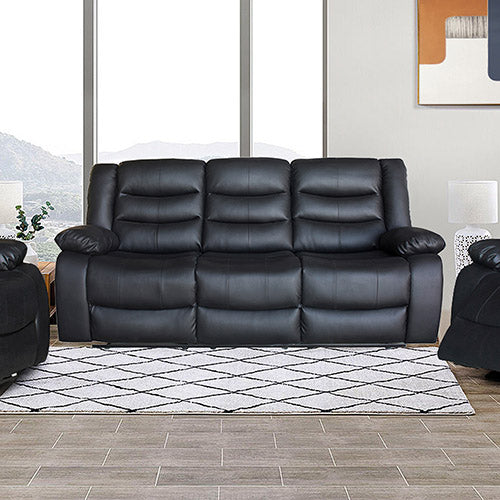 Fantasy Recliner Pu Leather 3R Black