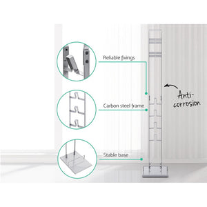 Freestanding Dyson Vacuum Stand Rack Holder Cordless Handheld Cleaner V6 7 8 V10 V11 Silver