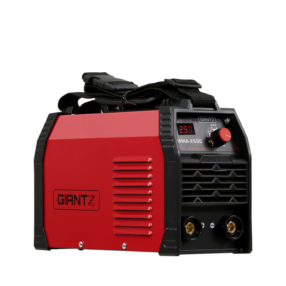 Giantz 250Amp Inverter Welder Stick ARC MMA DC iGBT Portable Welding Machine