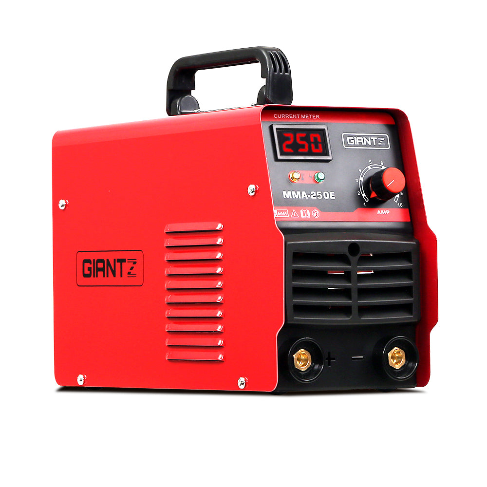 Giantz Inverter Welder Stick DC MMA ARC Metal Welding Machine Portable IGBT 250A