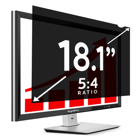 "SightPro Black 18.1"" 5:4 Privacy Screen"