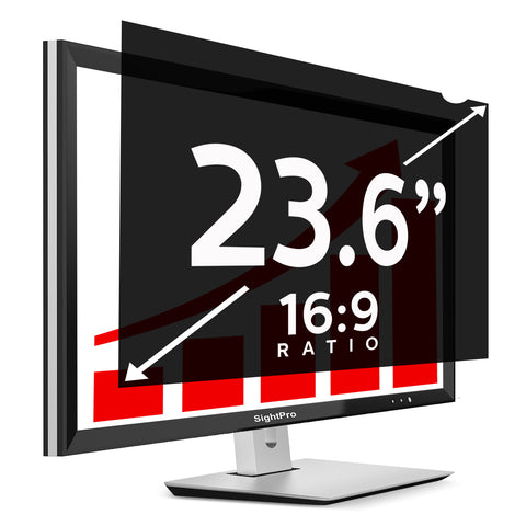 "SightPro Black 23.6"" 16:9 Privacy Screen"