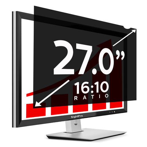 "SightPro Black 27.0"" 16:10 Privacy Screen"