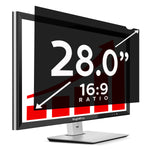 "SightPro Black 28.0"" 16:9 Privacy Screen"