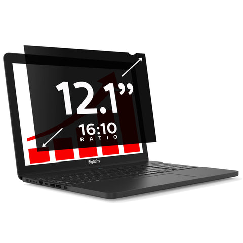 "SightPro Black 12.1"" 16:10 Privacy Screen"