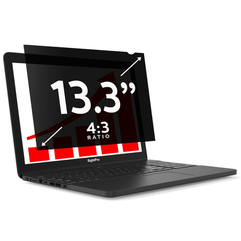 "SightPro Black 13.3"" 4:3 Privacy Screen"