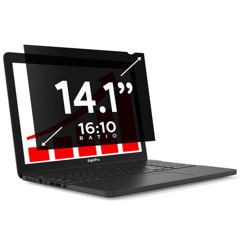 "SightPro Black 14.1"" 16:10 Privacy Screen"