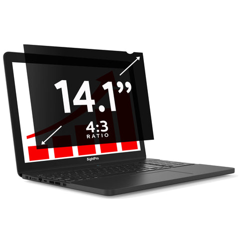 "SightPro Black 14.1"" 4:3 Privacy Screen"