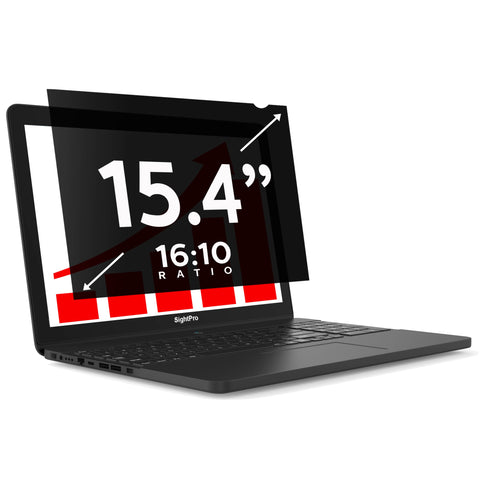 "SightPro Black 15.4"" 16:10 Privacy Screen"