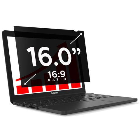 "SightPro Black 16.0"" 16:9 Privacy Screen"