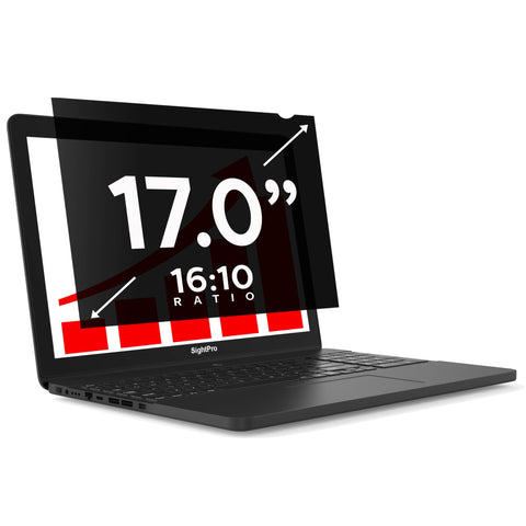 "SightPro Black 17.0"" 16:10 Privacy Screen"