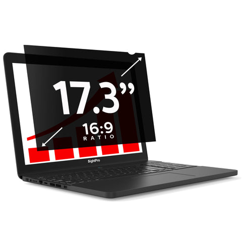 "SightPro Black 17.3"" 16:9 Privacy Screen"