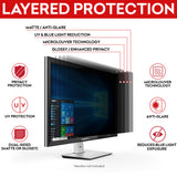 "SightPro Black 20.1"" 4:3 Privacy Screen"