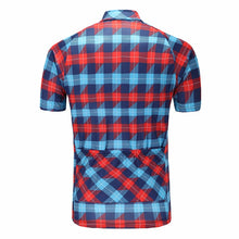 Load image into Gallery viewer, Plaid Cycling Jersey