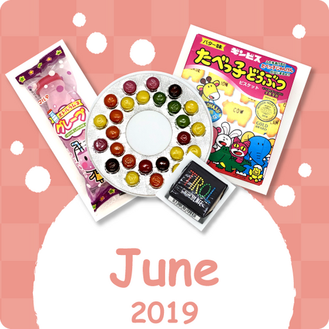 Monthly Snacks Assortment 2019 June