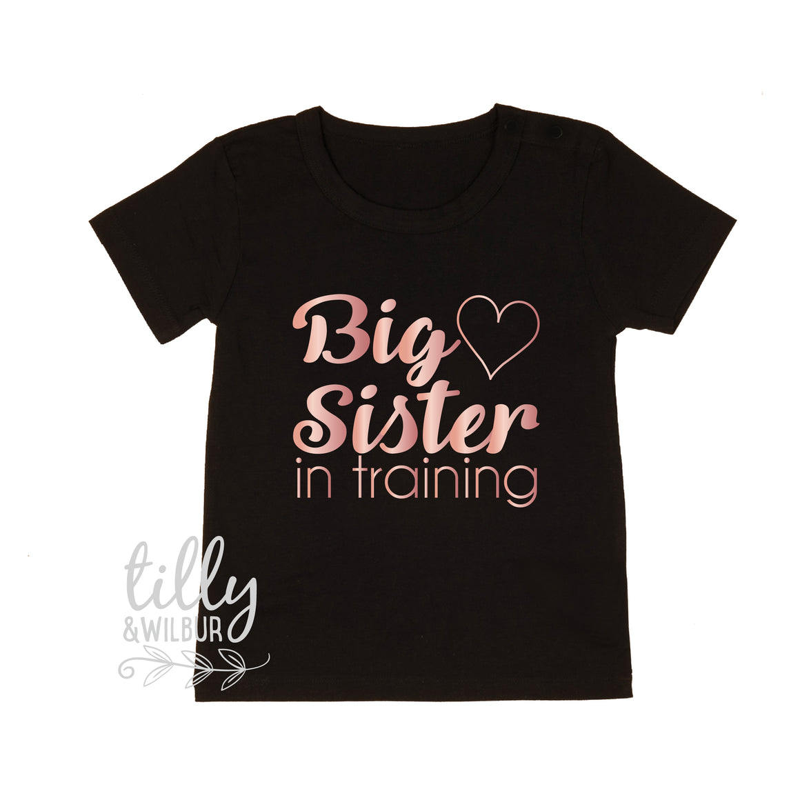 Big Sister In Training Girls T-Shirt