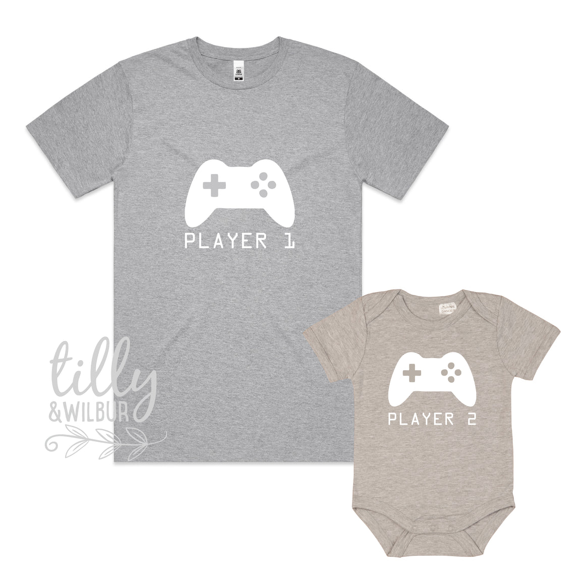 Player 1 Player 2 Father Son Matching Set