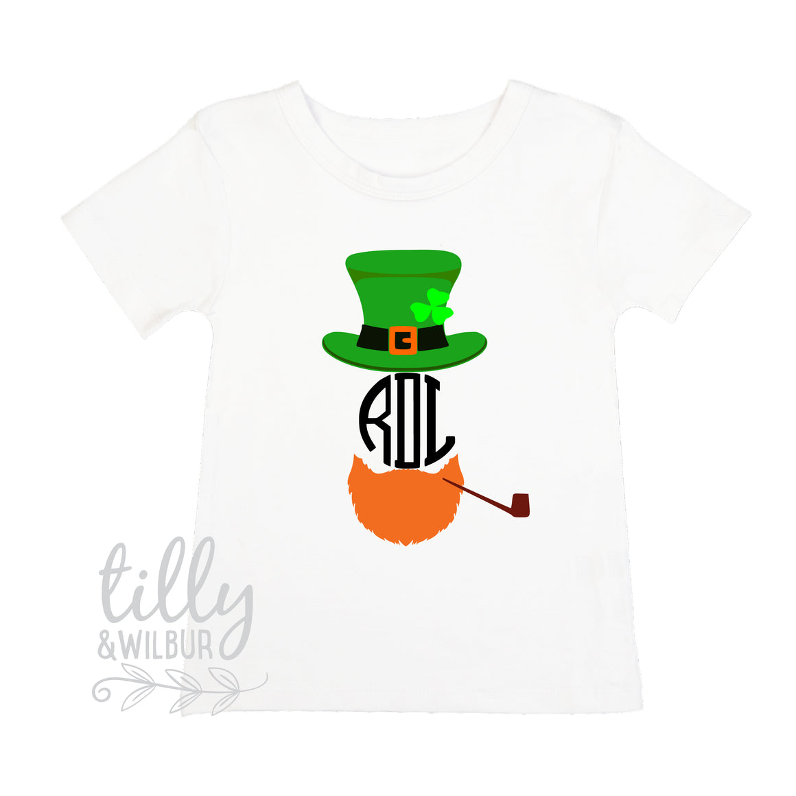 St Patrick's Day Personalised Boys T-Shirt