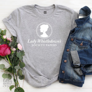 Lady Whistledown's Society Papers Women's T-Shirt