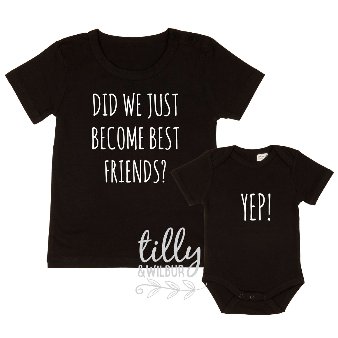 Did We just Become Best Friends? Yep! New Baby Brother Set