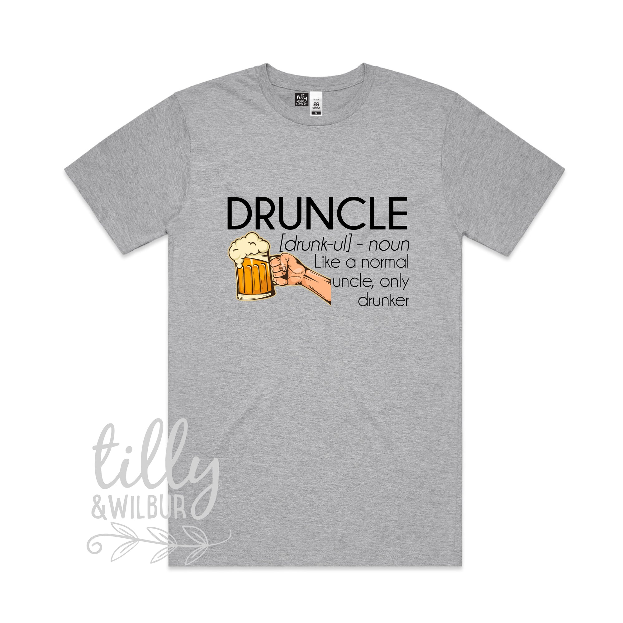 Druncle Just Like A Normal Uncle Only Drunker Men's T-Shirt