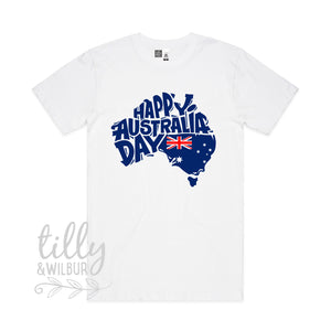 Happy Australia Day Men's T-Shirt