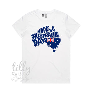 Happy Australia Day Women's T-Shirt