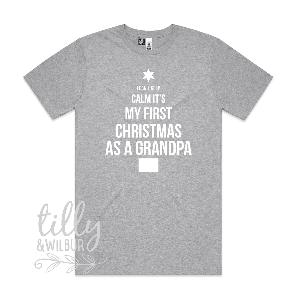 I Can't Keep Calm It's My First Christmas As A Grandpa