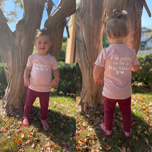 I've Got A Secret, I'm Going To Be A Big Sister T-Shirt for Girls