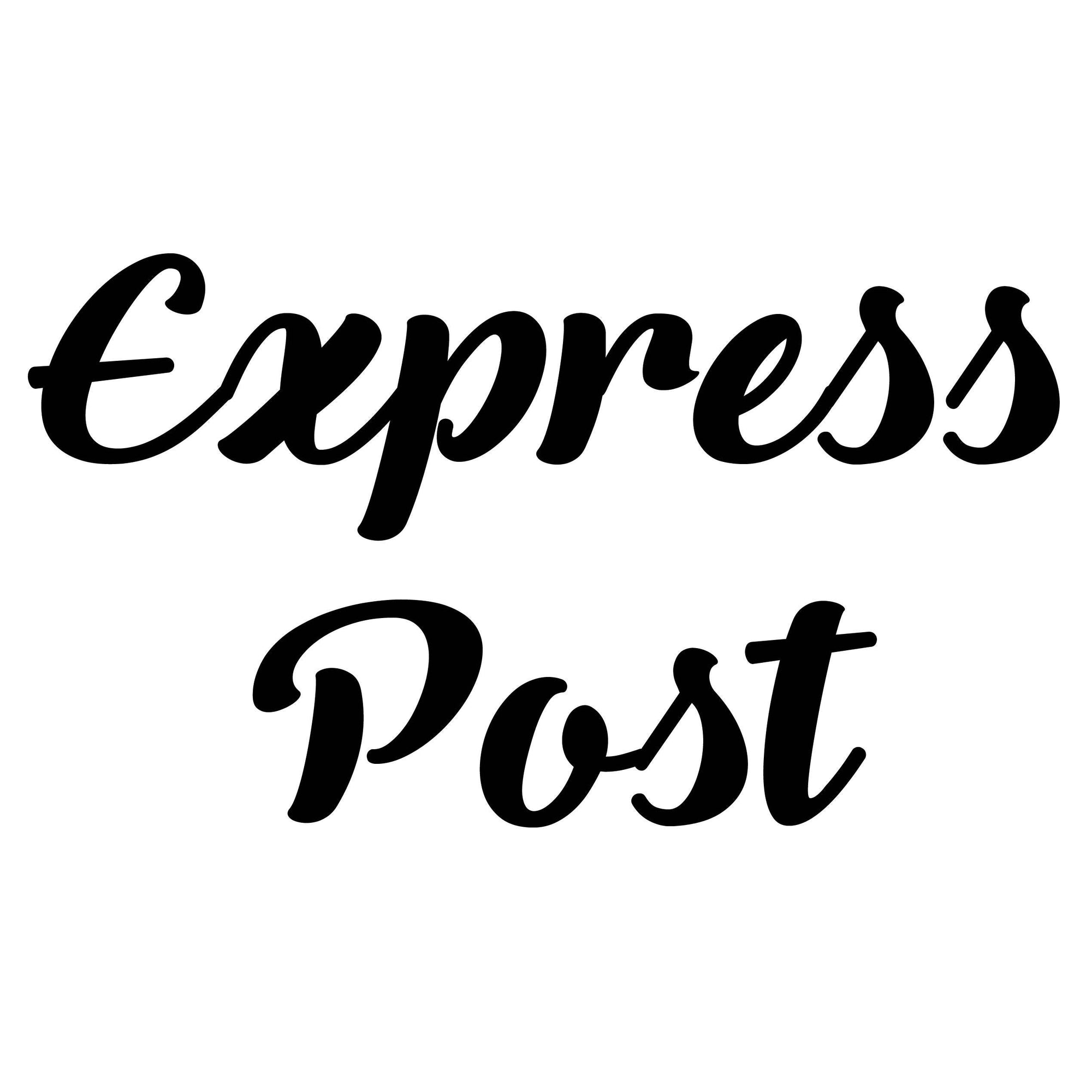 Express Post Shipping