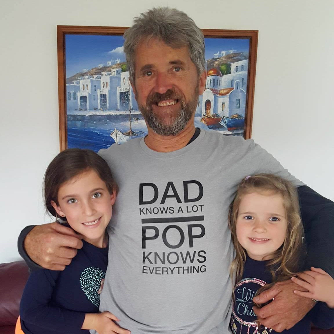 Dad Knows A Lot Pop Knows Everything Men's T-Shirt, Funny Mens Shirt, Father's Day Gift, Dad Jokes, Men's Humour TShirt, M-GY-SS-T