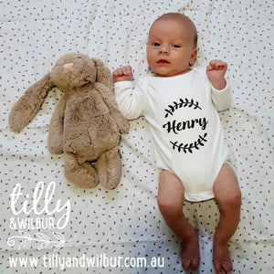 Personalised Baby Bodysuit For New Arrivals, Baby Gift, Newborn Gift, Personalised Baby Gift, Personalised Gift, Personalised Baby Clothes