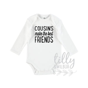 Cousins Make The Best Friends Baby Bodysuit, Unisex Cousin Outfit, Pregnancy Announcement, Cousin To Be, I'm Going To Be A Cousin, U-W-BS