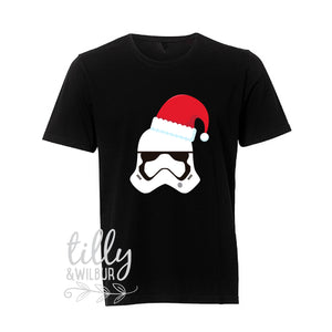 Star Wars Stormtrooper Christmas Men's T-Shirt, Christmas Stormtrooper, Santa Stormtrooper, Star Wars Storm Trooper Gift, Star Wars Xmas