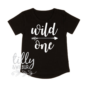 Wild One Boys 1st Birthday T-Shirt, Wild One Boys Birthday Shirt, Boys First Birthday Outfit, Boys Birthday Party, I AM One Cake Smash