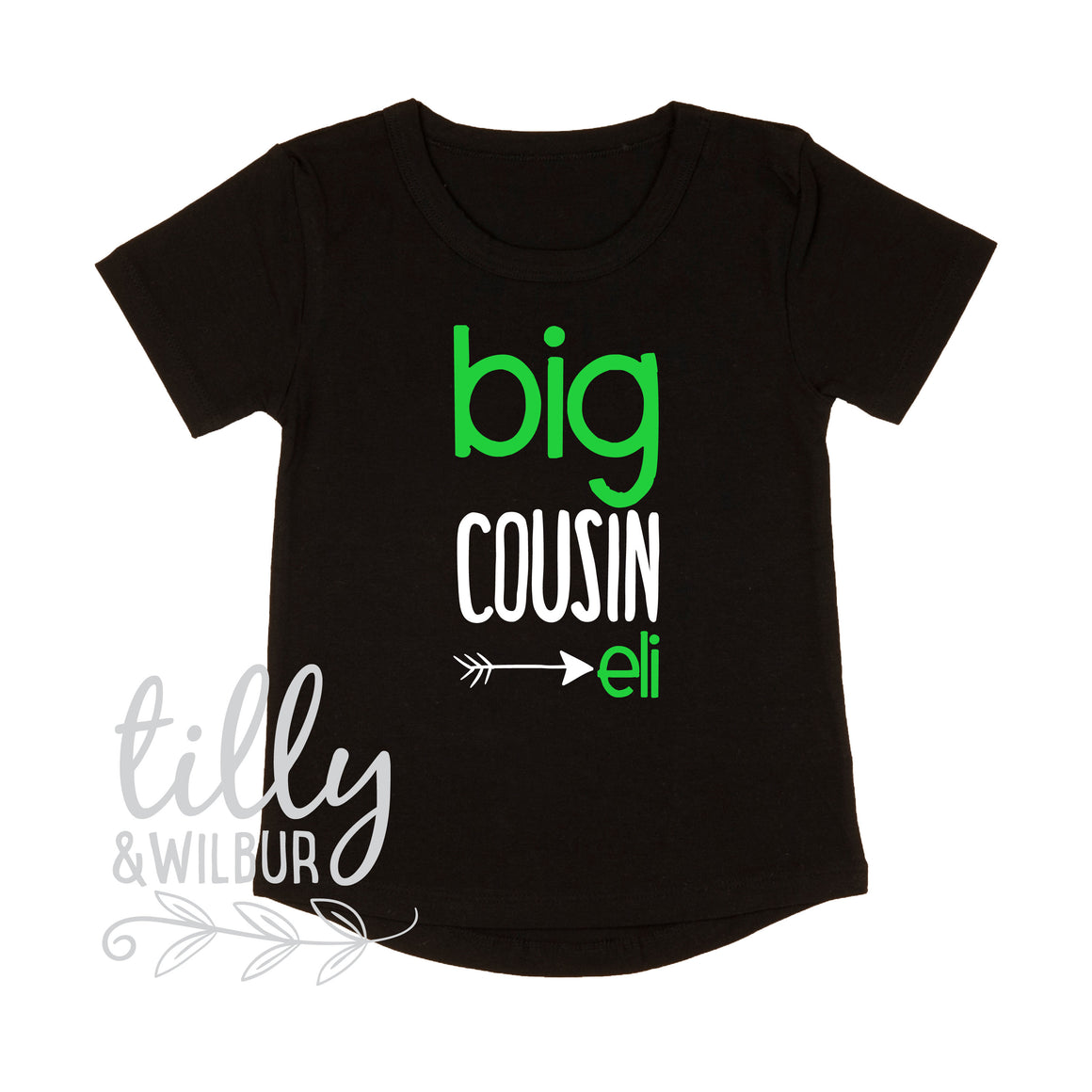 Personalised Big Cousin T-Shirt For Boys, Big Cousin T-Shirt, Boys Cousin Gift, Pregnancy Announcement, Boys Clothing, I'm Going To Be A Big