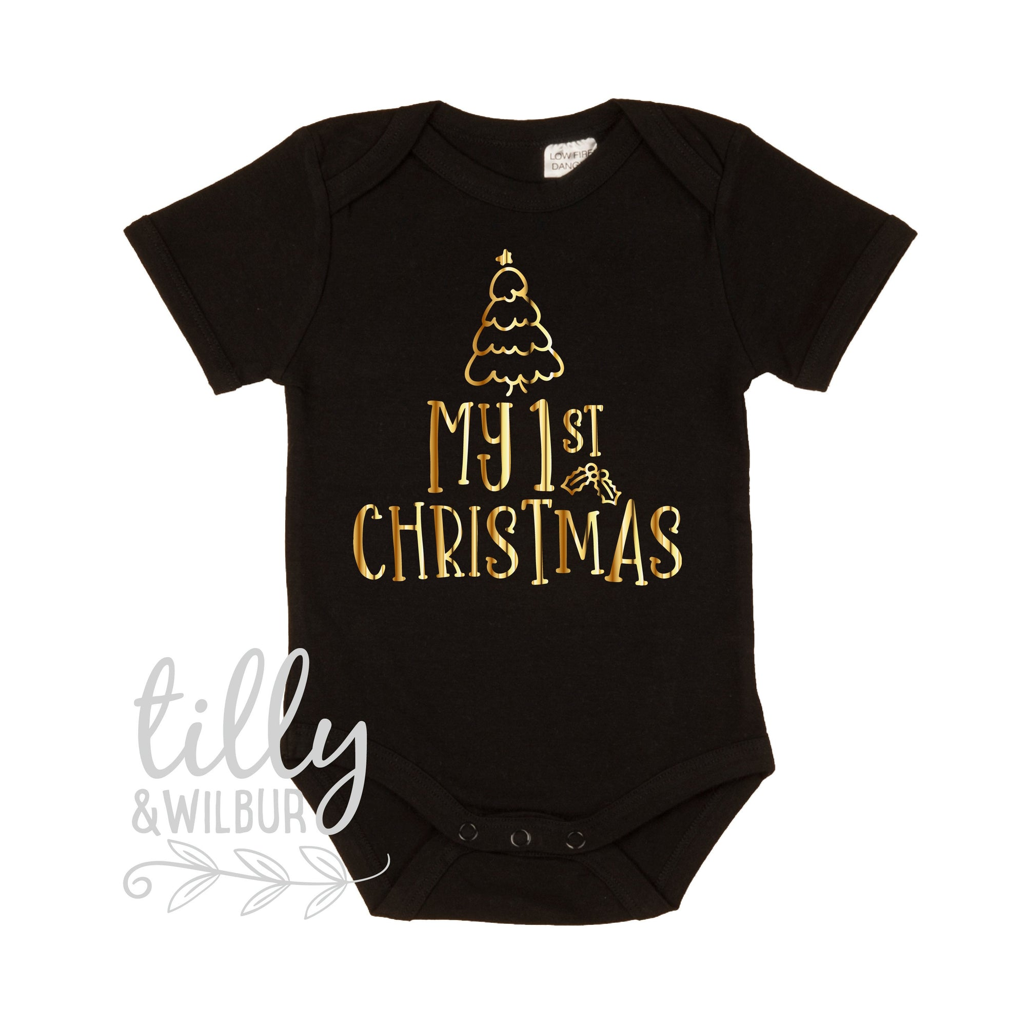 My First Christmas, 1st Christmas Baby Outfit, First Xmas Baby Bodysuit, Unisex Christmas Baby Gift, Newborn Baby First Christmas, Xmas