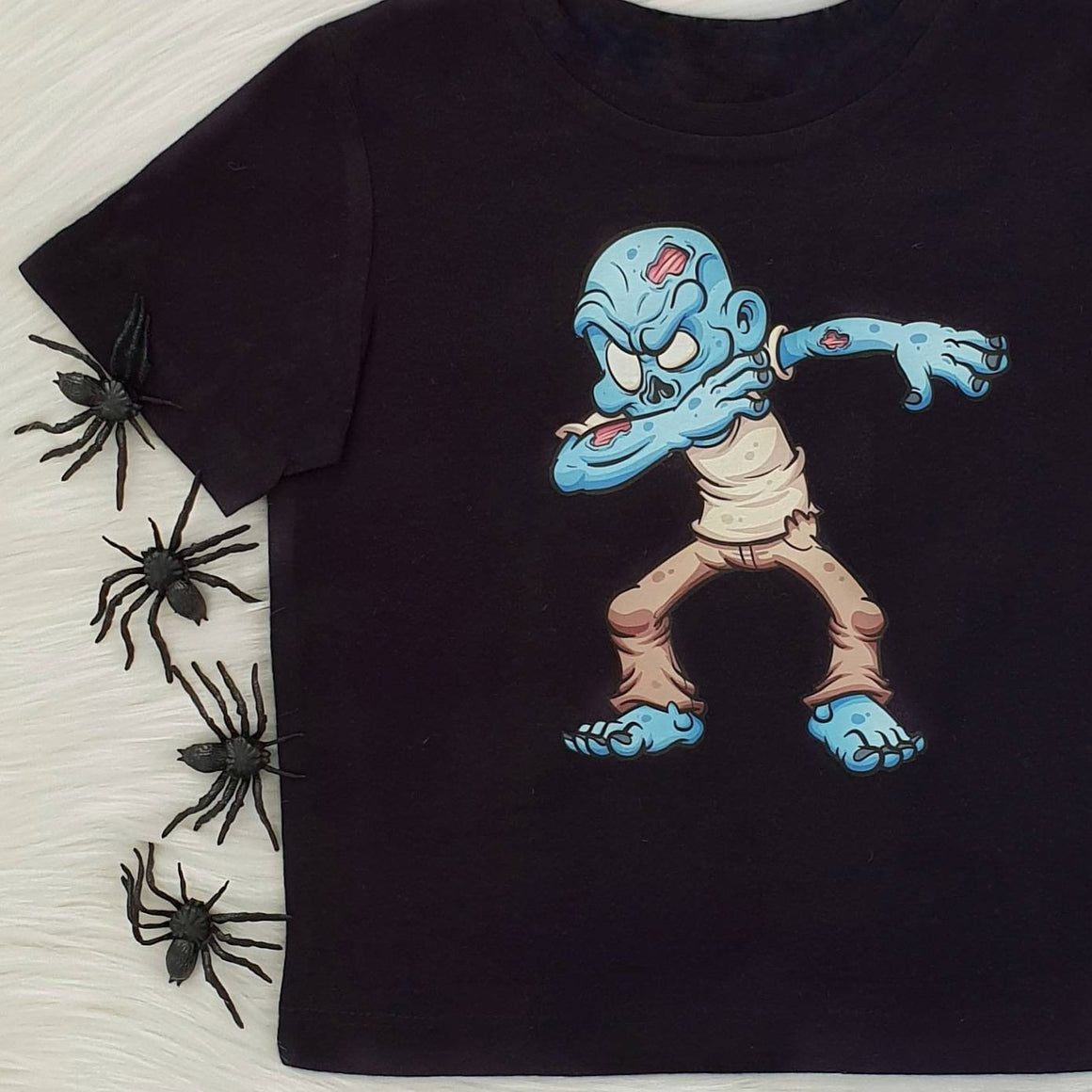 Dabbing Zombie Halloween T-Shirt For Boys, Halloween Costume, Dab, Dabbing Zombie, Boys Halloween Costume, Zombie T-shirt, Halloween T-Shirt