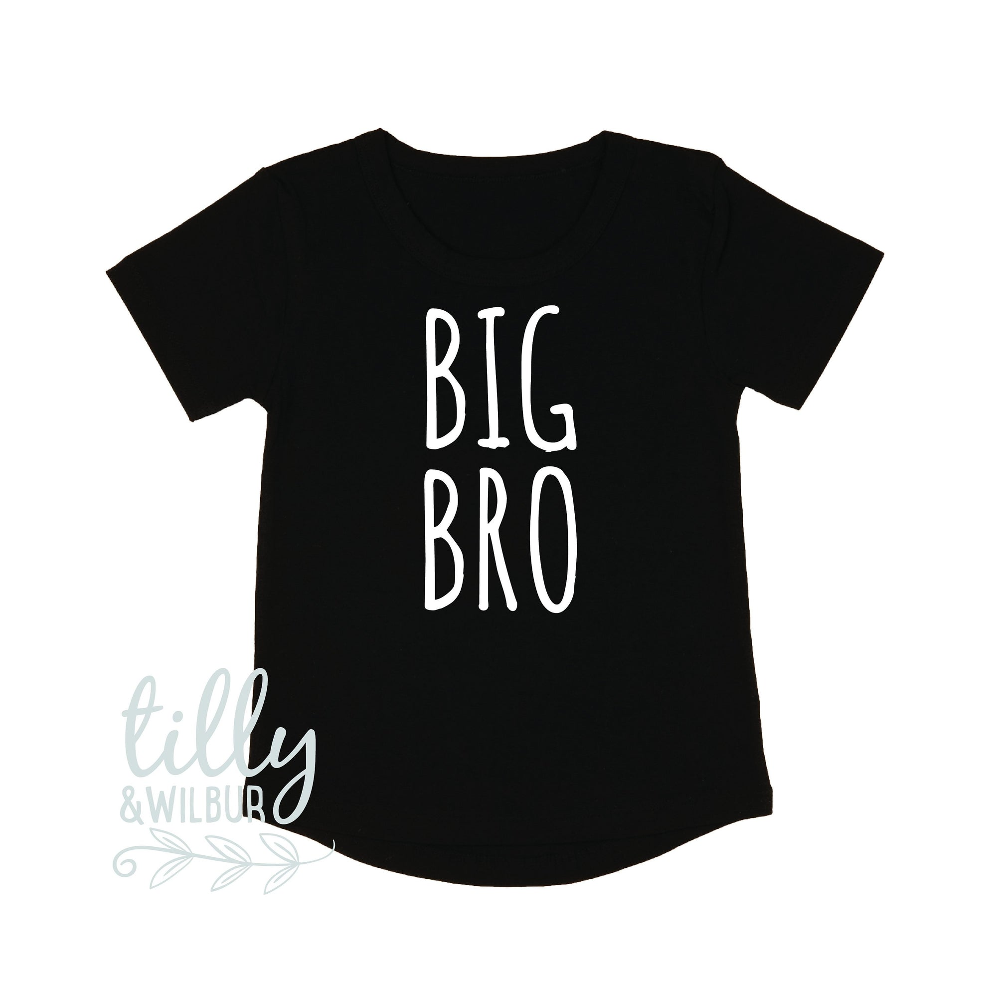Big Bro T-Shirt, Big Brother Shirt, I'm Going To Be A Big Brother, Pregnancy Announcement Shirt, Big Bro Gift, Sibling TShirt, Boys Clothing