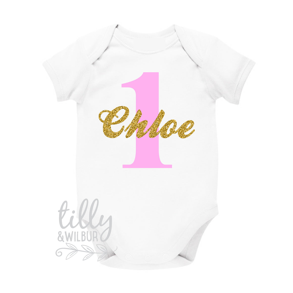 Personalised 1st Birthday Bodysuit, One Birthday Shirt, First Birthday Bodysuit For Girls, 1st Birthday Outfit, Birthday Girl, Onederful