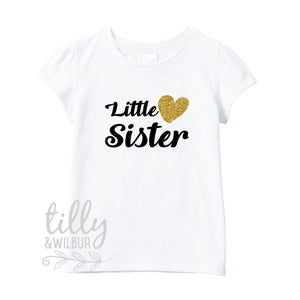 Little Sister T-Shirt For Girls, Pregnancy Announcement Shirt, I'm Going To Be A Little Sister, Sister T-Shirt Gift, Little Sister Shirt