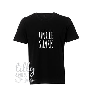 Uncle Shark, Daddy Shark Baby Shark Matching Shirts, Matching Dad Baby, Father Son, Father's Day Gift, Christmas Gift, Baby Shark Dance