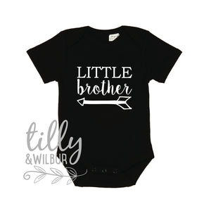 Little Brother Bodysuit, Little Brother Big Brother Set, Lil Brother Shirt, Pregnancy Announcement, Sibling Shirt, Brother Tee, Big Bro