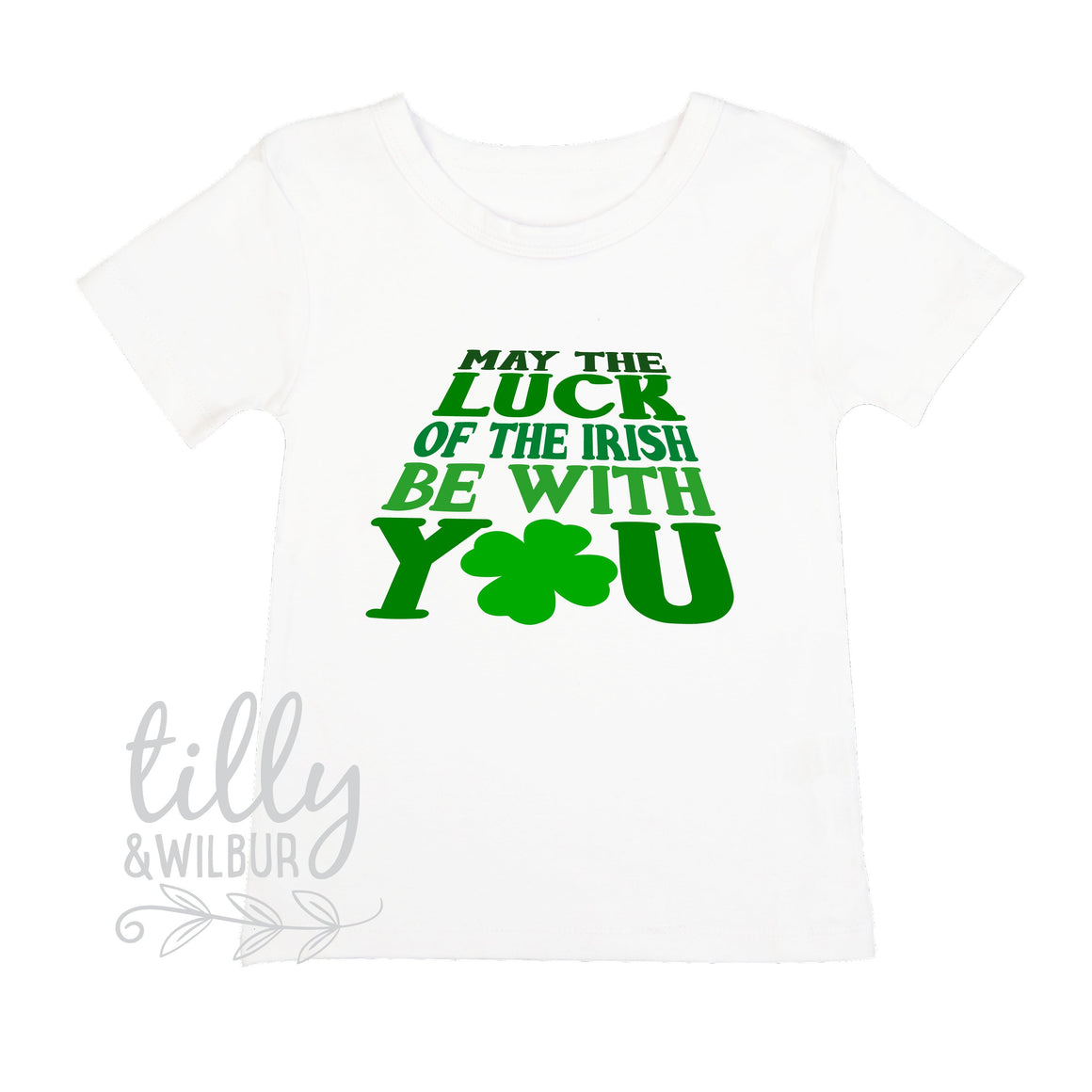 May The Luck Of The Irish Be With You Boy's T-Shirt, St Patrick's Day Shirt, Happy St Paddy's Day, Ireland, Celtic, St Patrick, Paddy, Boy's