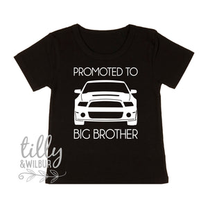 Promoted To Big Brother T-Shirt, Car Brother Shirt, Ford T-Shirt, Ford Big Brother Shirt, Big Brother Tee, Pregnancy Announcement Brother