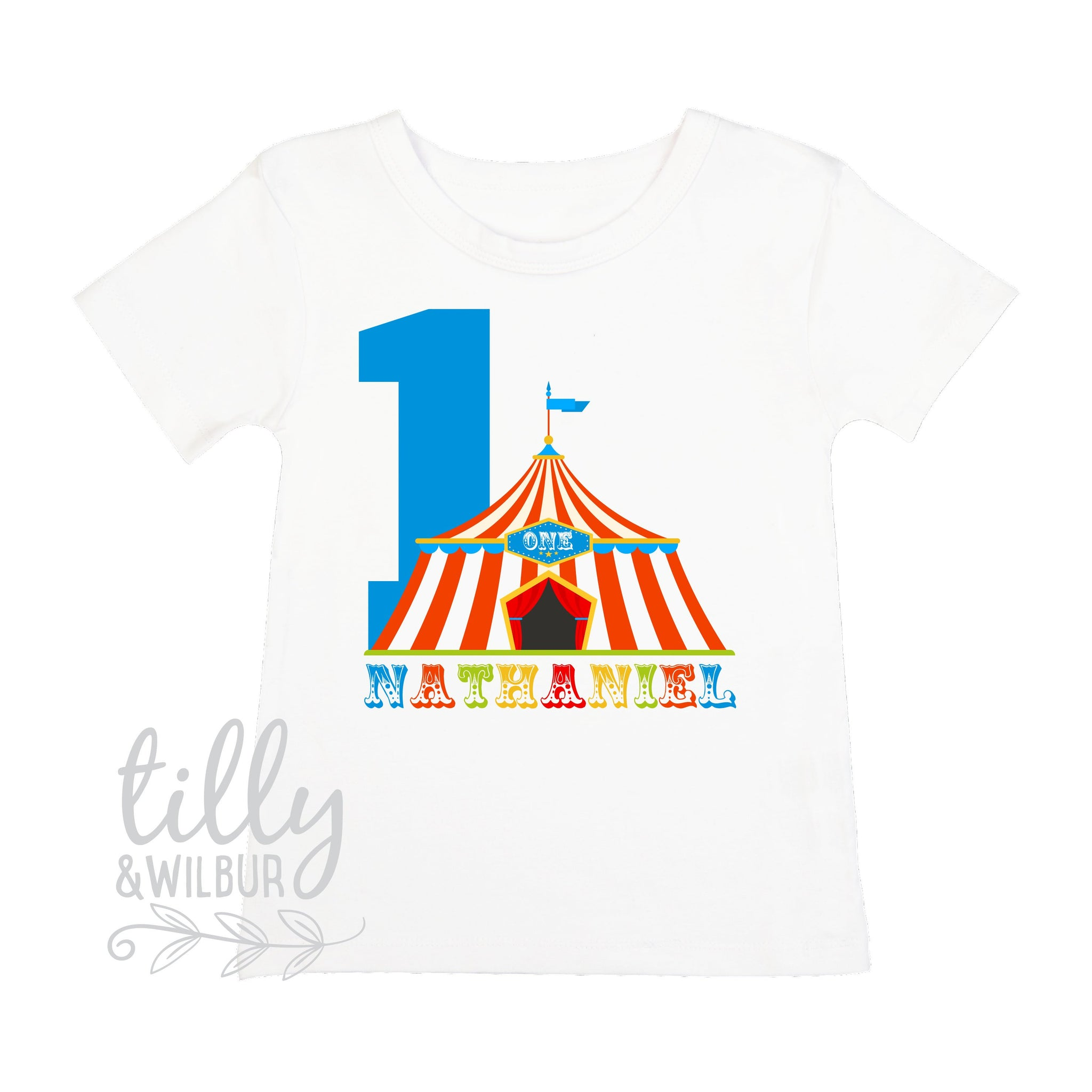 f47a5fd257238 One Personalised Boys 1st Birthday T-Shirt