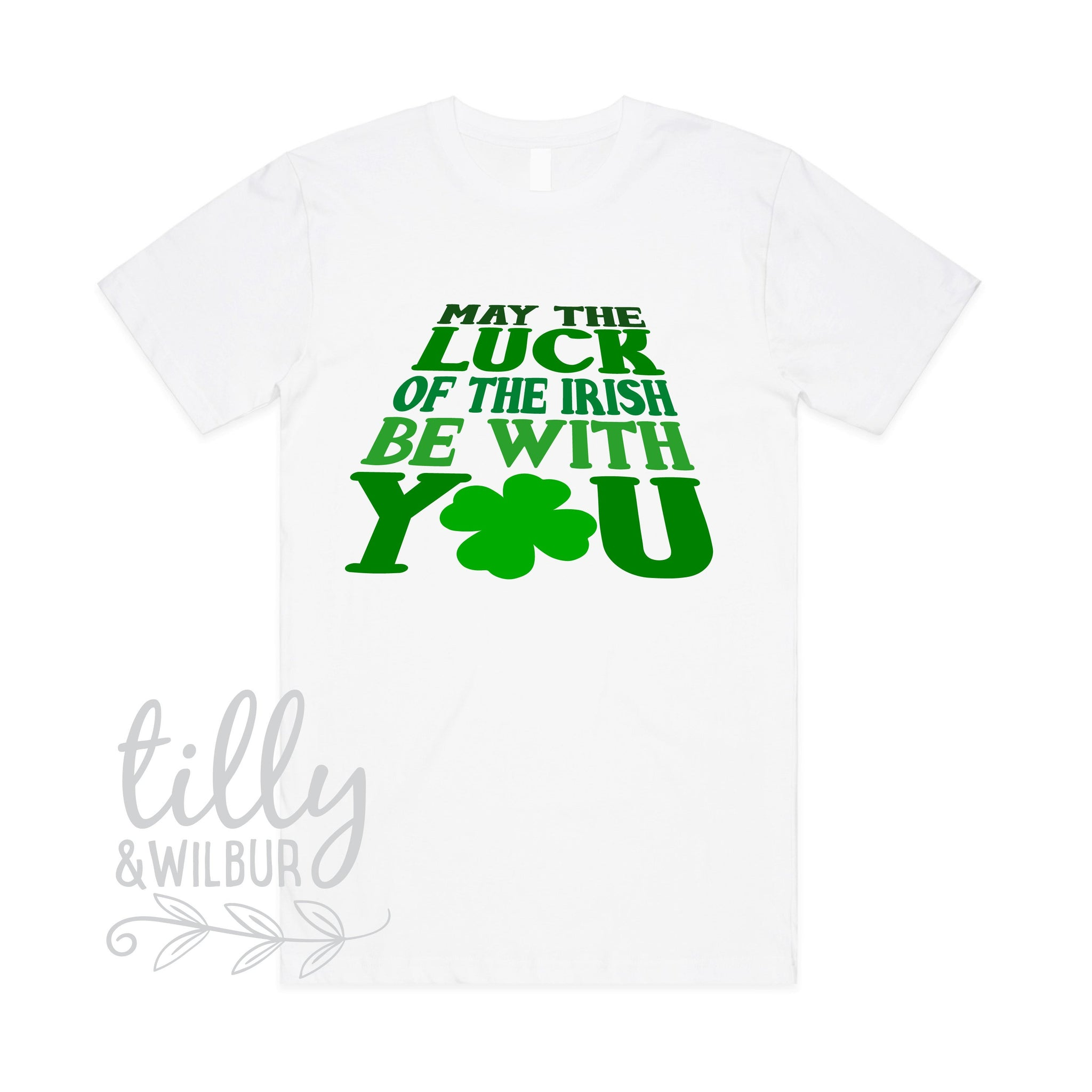 f30c7e558 May The Luck Of The Irish Be With You Men's T-Shirt - Tilly&Wilbur®